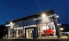 mercedes showroom million pound showroom for mercedes at orwell truck u0026 van