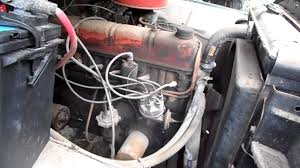 Old Ford Truck Engines - first cold start 1960 ford f500 223 cubic inch inline 6 youtube