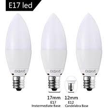 60 watt light bulb lumens eksave 3 pack 7w e17 candelabra led bulb equivalent 60 watt light