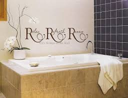 relax refresh renew for bathroom 8x33 vinyl lettering wall saying
