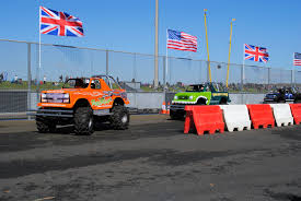 monster truck racing uk mini monster truck mania arena displays