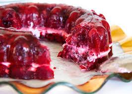 cran raspberry jello salad in every season