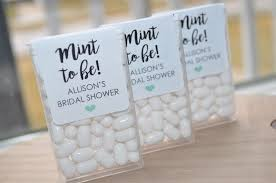 mint to be wedding favors wedding favors tic tac labels mint to be bridal shower favors