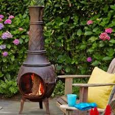 Blue Rooster Chiminea Review Chiminea Some Of Them The Top Section Lifts Off And You Can Cook
