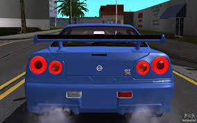 nissan skyline r34 engine nissan skyline gt r v spec ii 2002 for gta san andreas