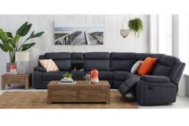 Fabric Corner Recliner Sofa Vienna Fabric Corner Recliner Sofa Recliner Lounges Living