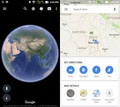 map of eart 6 differences between maps and earth
