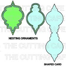 the cutting cafe ornament templates cutting files