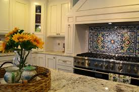 mexican tile backsplash kitchen get your kitchen bathed with awe with the touch of gorgeous