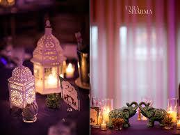 indian wedding planner ny elephant wedding reception decor lanterns purple indian wedding