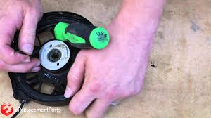 how to repair the starter cord on a toro lawnmower youtube