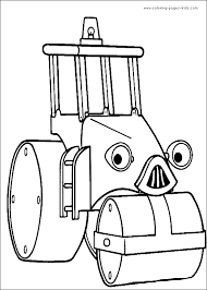 holiday coloring pages bob builder coloring pages free