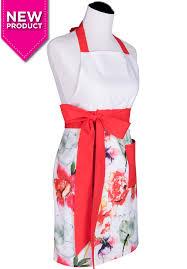 cute kitchen aprons flirty fun sexy styles women kenzie coral floral apron