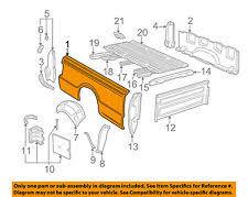 ford ranger bed truck bed accessories for ford ranger genuine oem ebay