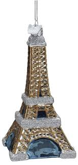 eiffel tower tree ornament