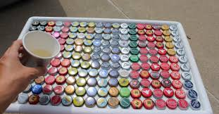 beer cap table top beer bottle cap table touch of tay