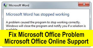 how to fix microsoft office has stopped working youtube