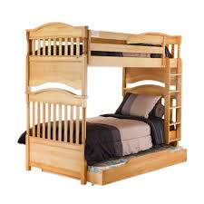 solid wood bunk beds for kids