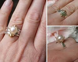 the pearls wedding band 48 best ring ideas images on jewelry rings and pearl