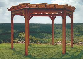 Pergola With Swing by Pergolas Pine Creek Structures