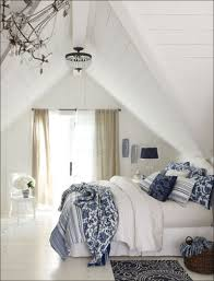 White Bedroom Pop Color Blue And White Decor Adding Blue And White Colors And Patterns