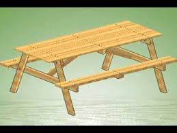 how to build a picnic table with assembly instructions link youtube