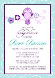color baby shower invite templates