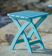 Folding Outdoor Side Table Interesting Outdoor Folding Side Table With Coffee Table