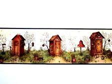 primitive country laundry wallpaper border laundry room