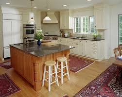 kitchen island with sink farm sink ashley winn design kitchen
