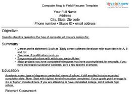 expert resumes for computer and web jobs lovetoknow