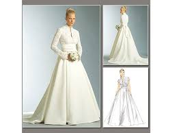 tissus robe de mariã e patron vogue 2979 robe de mariée tissus hemmers fr