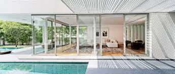 retractable glass walls interior design ideas