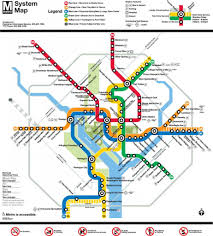 Washington Dc Attractions Map Tips For Riding The Metro In Washington Dc Washington Dc