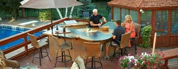 outdoor greatroom fire table the outdoor great room co the outdoor company manufactures gas fire
