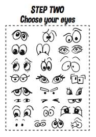 how to draw doodle faces how to draw faces printable a4 workbook design the