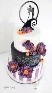 nightmare before christmas wedding decorations nightmare before christmas wedding cake cake by