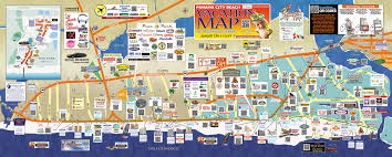 Florida Map Of Beaches by Panama City Beach Map Spring Break