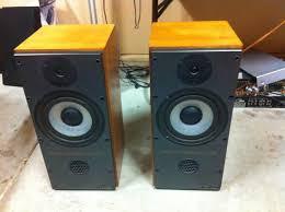 Mission 700 Bookshelf Speakers Mission 737r Speaker Woofers Repair Youtube