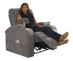 Recliner With Cup Holder Catnapper The Chiller Power Reclining Chair With Ipad Claw And