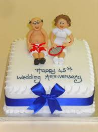45th wedding anniversary 8 45 wedding anniversary cakes photo 45th wedding anniversary cake