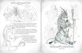 goldenwolf u0027s sketchbook volume i by goldenwolf on deviantart