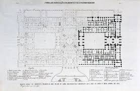 plan of herrenchiemsees 1878 the palace designed for ludwig iii