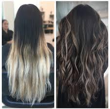black hair to blonde hair transformations hair transformation dark to light brown balayage ombre balayage