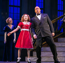 hatari cast curtain goes up on paper mill playhouse production of annie