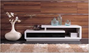White Lacquer Sofa Table by D3033 Modern White And Black Lacquer Tv Stand Modern Furnishings