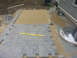 Patio Paver Base Material by Paver Patio Lexington Ma Concord Stoneworks