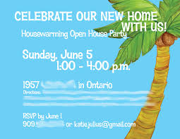 House Warming Invitation Card 54 Host A Housewarming Party The Journalings Of A Julius