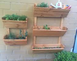 Hanging Indoor Planter by Rustic Hanging Planter Hanging Wood Planter 3 Tier Hanging