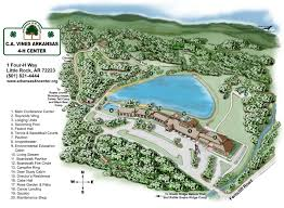 Map Of Arkansas State Parks by Arkansas 4h Center Conference Meeting Space And Retreat